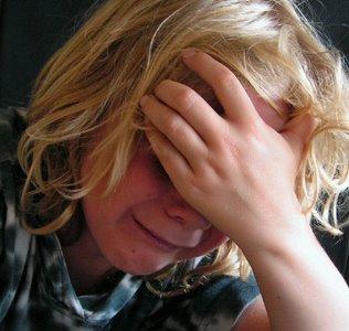 grief little girl
