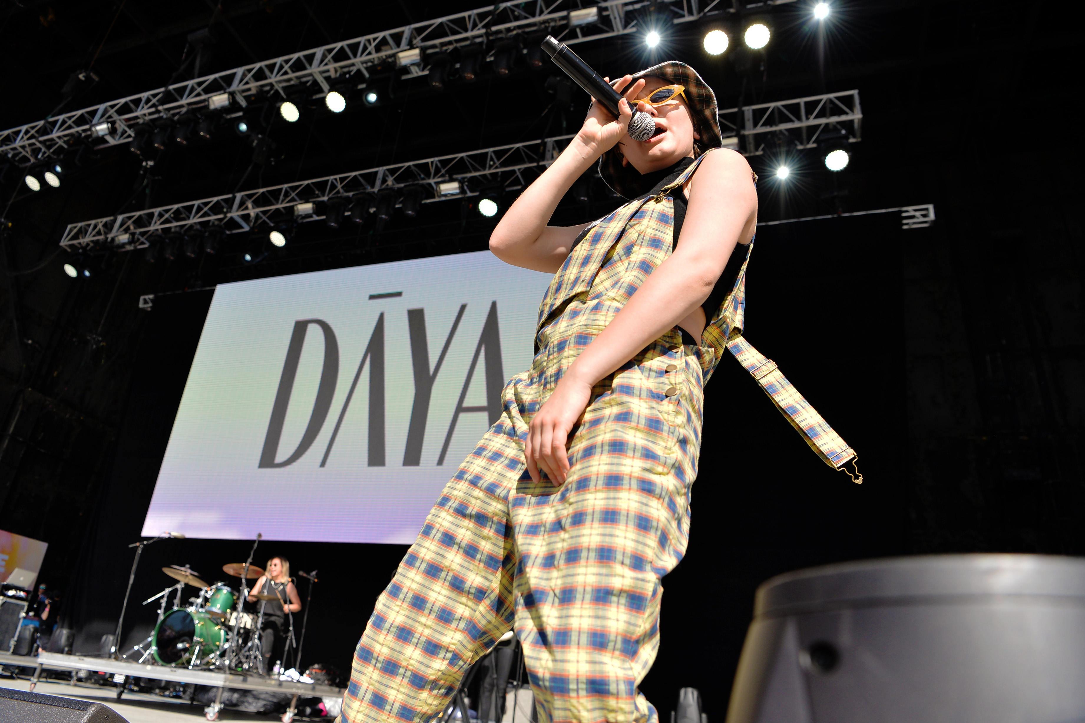 Daya performing at LOVELOUD powered by AT&T