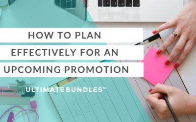 How To Plan Effectively For An Upcoming Affiliate Promotion