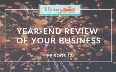 Episode 13: Doing a year-end review of your business (to make new goals!) with Jami Balmet