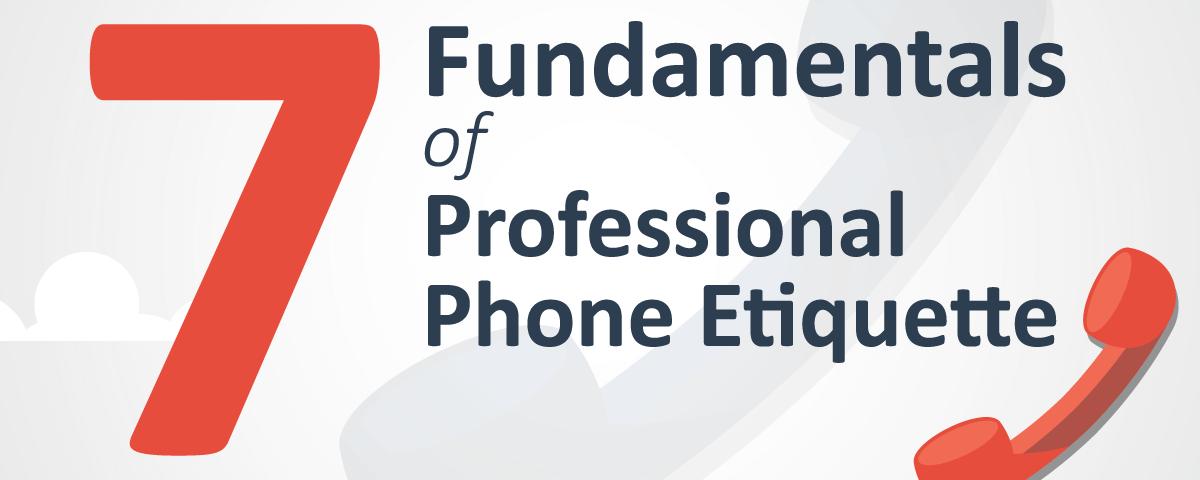 Professional Phone Etiquette