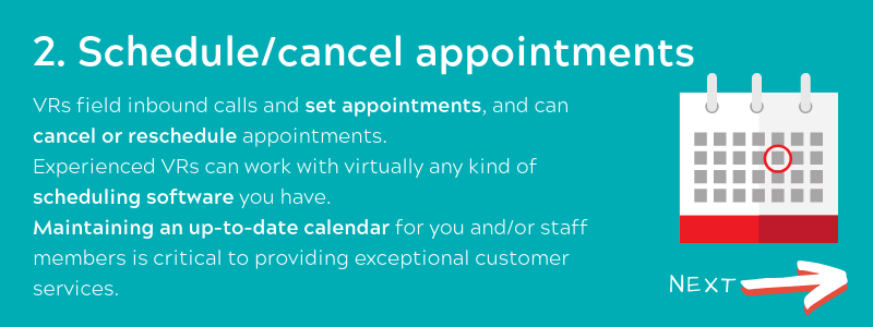Schedule_cancel appointments - Virtual Receptionist