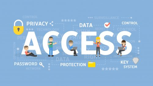 Identity management software helps protect personal data.