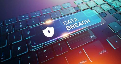 Data breach is a type of cyber security threat that organizations face.