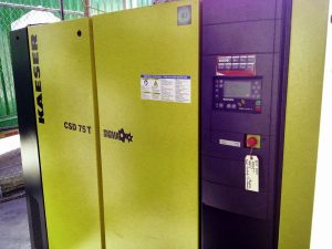 UPM Injection Molding Air Compressor Photo