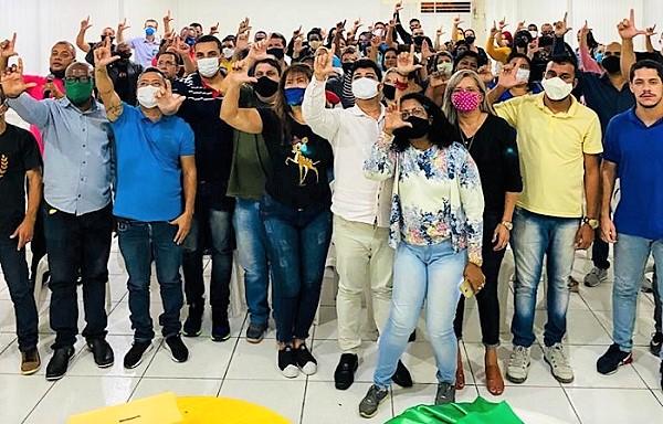 Pré-candidatos a vereador signatários do Manifesto Pró Lenine Lemos e Dra. Fátima