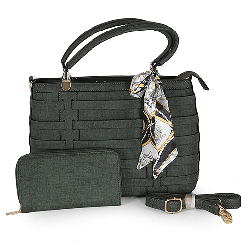 5a4890d4d02ef حقيبة يد نسائية مع محفظة - متجر تجارة بلا حدود
