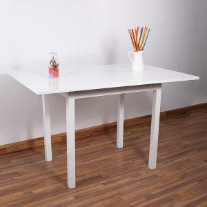 طاولة مربعة مودرن من الخشب قابله للطيَ
