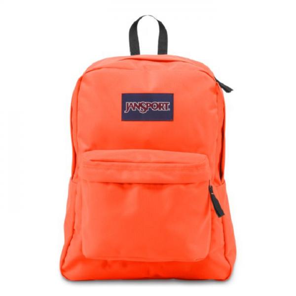 حقيبة ظهر لون أورنج من ماركة JANSPORT