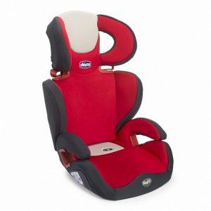 مقعد سيارة للاطفال تشيكو لون أحمر