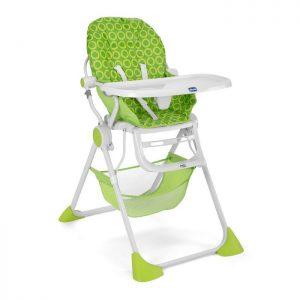 كرسي الطعام العالي Pocket Lunchلون أخضر