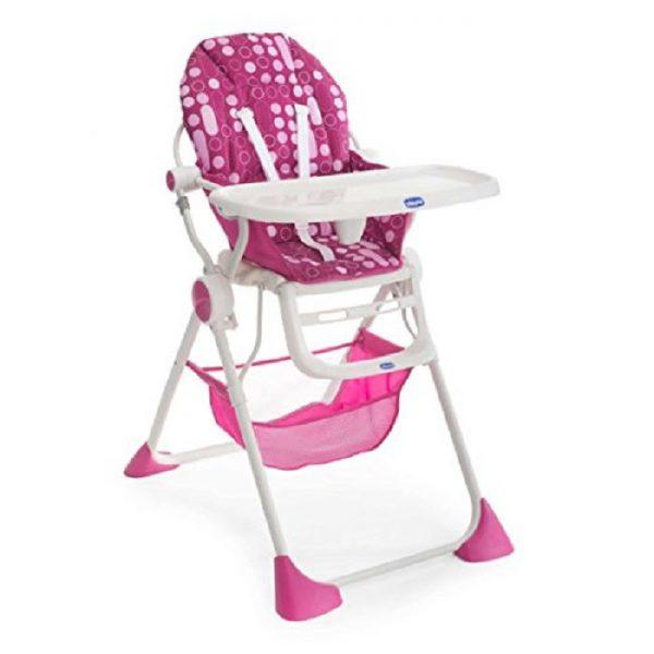 كرسي الطعام العالي Pocket Lunchلون زهري