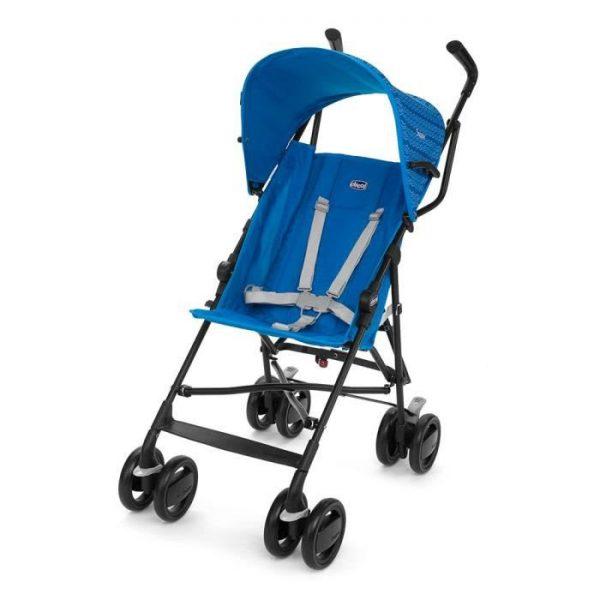 عربة Snappy للاطفال لون أزرق