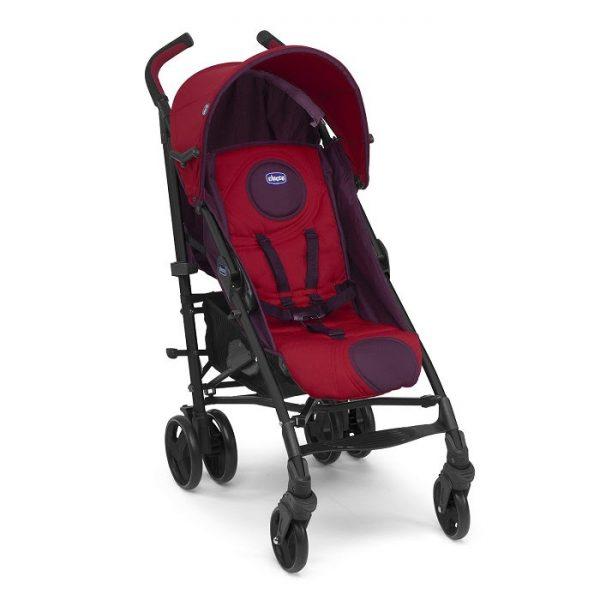 عربة الطفل لون احمر تشيكو