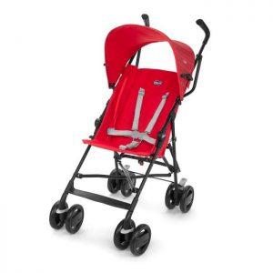 عربة Snappy للاطفال لون أحمر