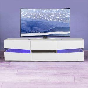 طاولة تلفاز LED ستايلش