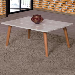طاولة ضيافة بحواف متميزة