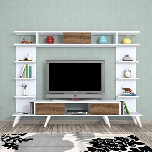 طاولة تلفاز موديل روتيرو - أبيض