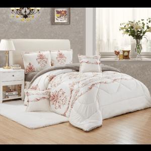 غطاء السرير مزدوج 6 قطع