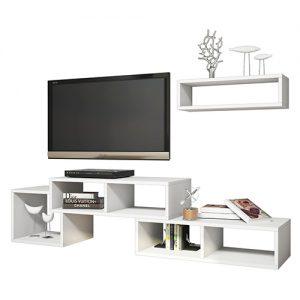 مكاتب تلفاز خشبية