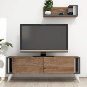 طاولة تلفاز موديل نيقرو صناعة خشبية