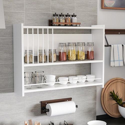منظم متعدد الاستخدامات موديل تيرا صناعة خشبية لون أبيض