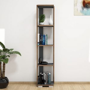 أرفف خشبية للكتب