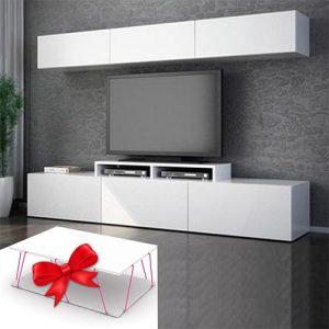 العرض المميز لطاولة تلفاز بديكور علوي تصميم سنتر