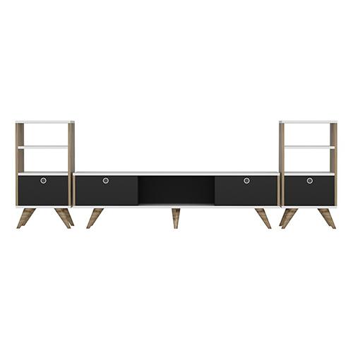 طاولة تلفاز مع طاولات جانبية موديل زين A