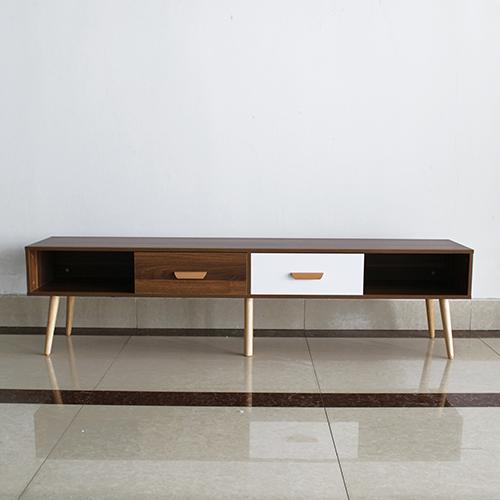 طاولة تلفاز موديل Paris designe بأدراج ووحدات تخزين