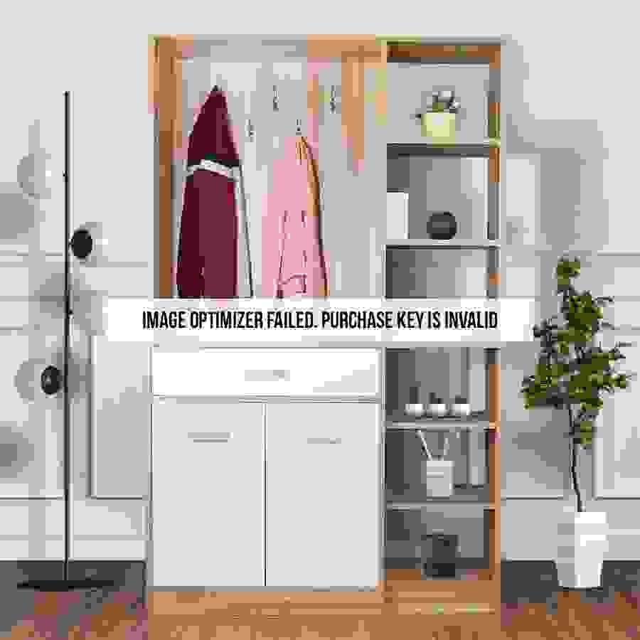 ديكور جميل لخزانة ملابس