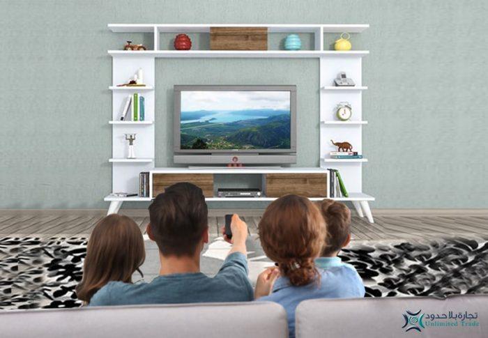 استمتع مع عائلتك بدفء طاولة تلفاز موديل روتيرو