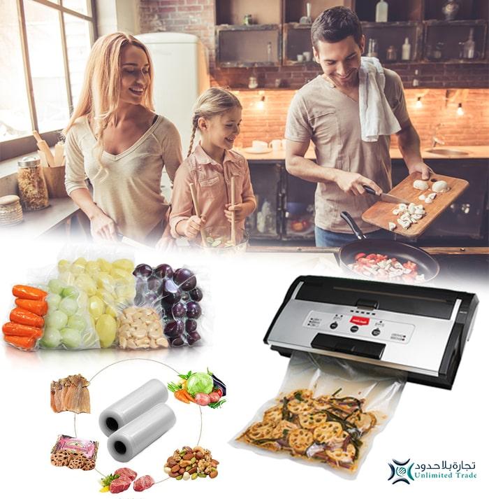 حافظ على صحتك وصحة عائلتك بطعام مغلف بجهاز كووك المطور