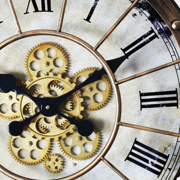 عقارب وتروس ساعة انتيكة