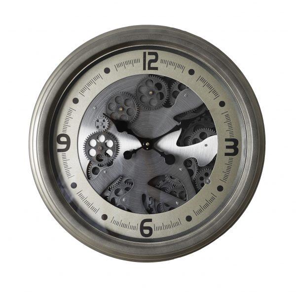 ساعة حائط أنتيكة موديل ايفري منث شكل دائري صناعة معدنية