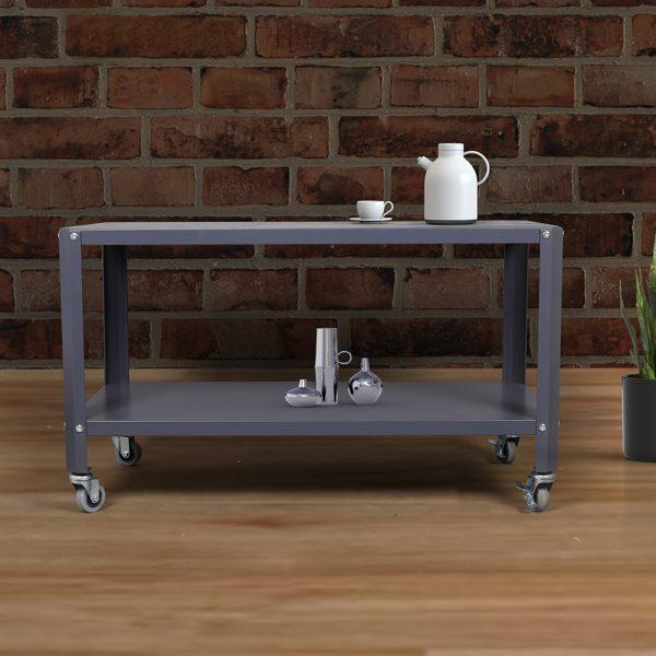 طاولات ضيافة لون رمادي