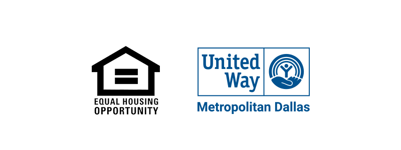 United Way of Metropolitan Dallas & Equal Housing Opportunity Logos