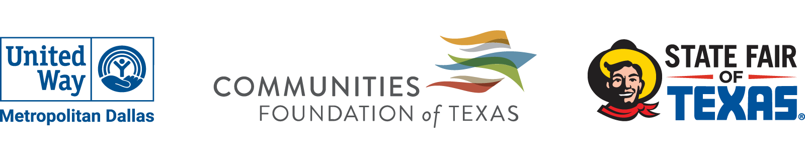 Sponsored by United Way of Metropolitan Dallas, Communities Foundation of Texas and the State Fair of Texas.