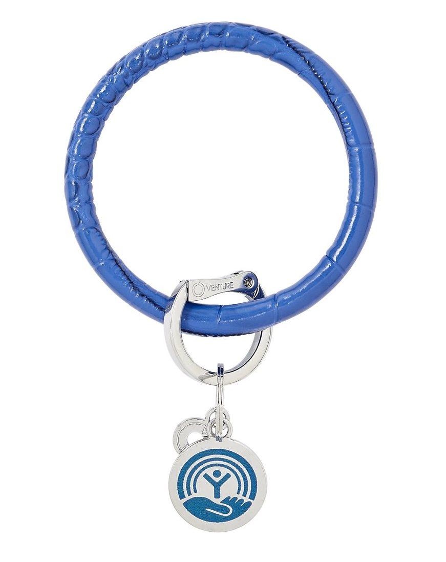 United Way Big O Ring keychain