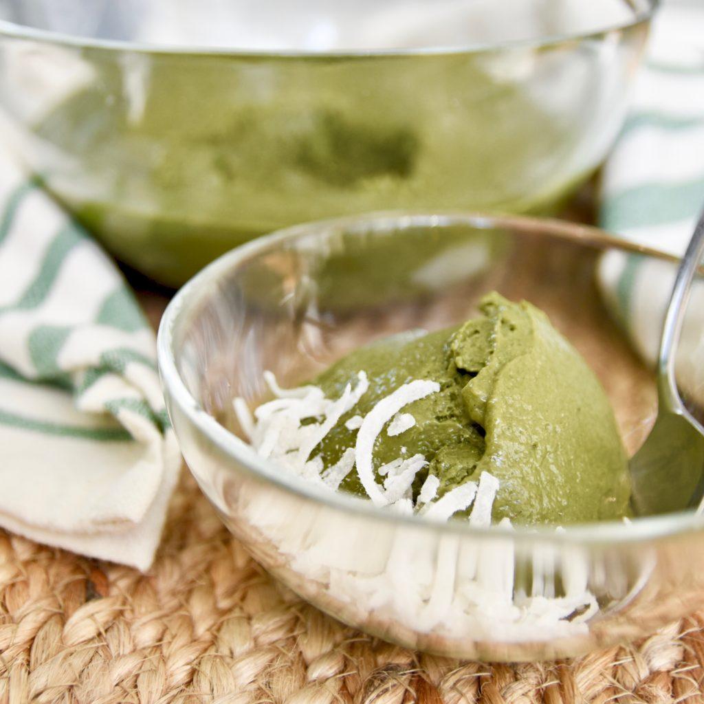 Matcha Nice Cream Vibrant Health