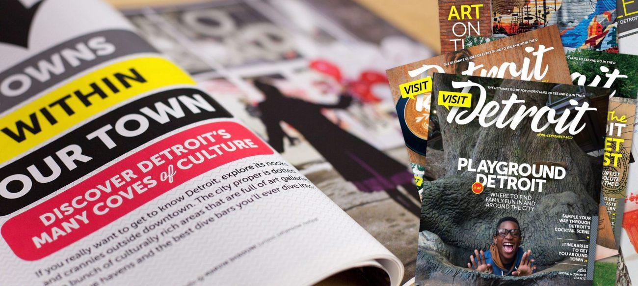 Advertise in Visit Detroit Magazine
