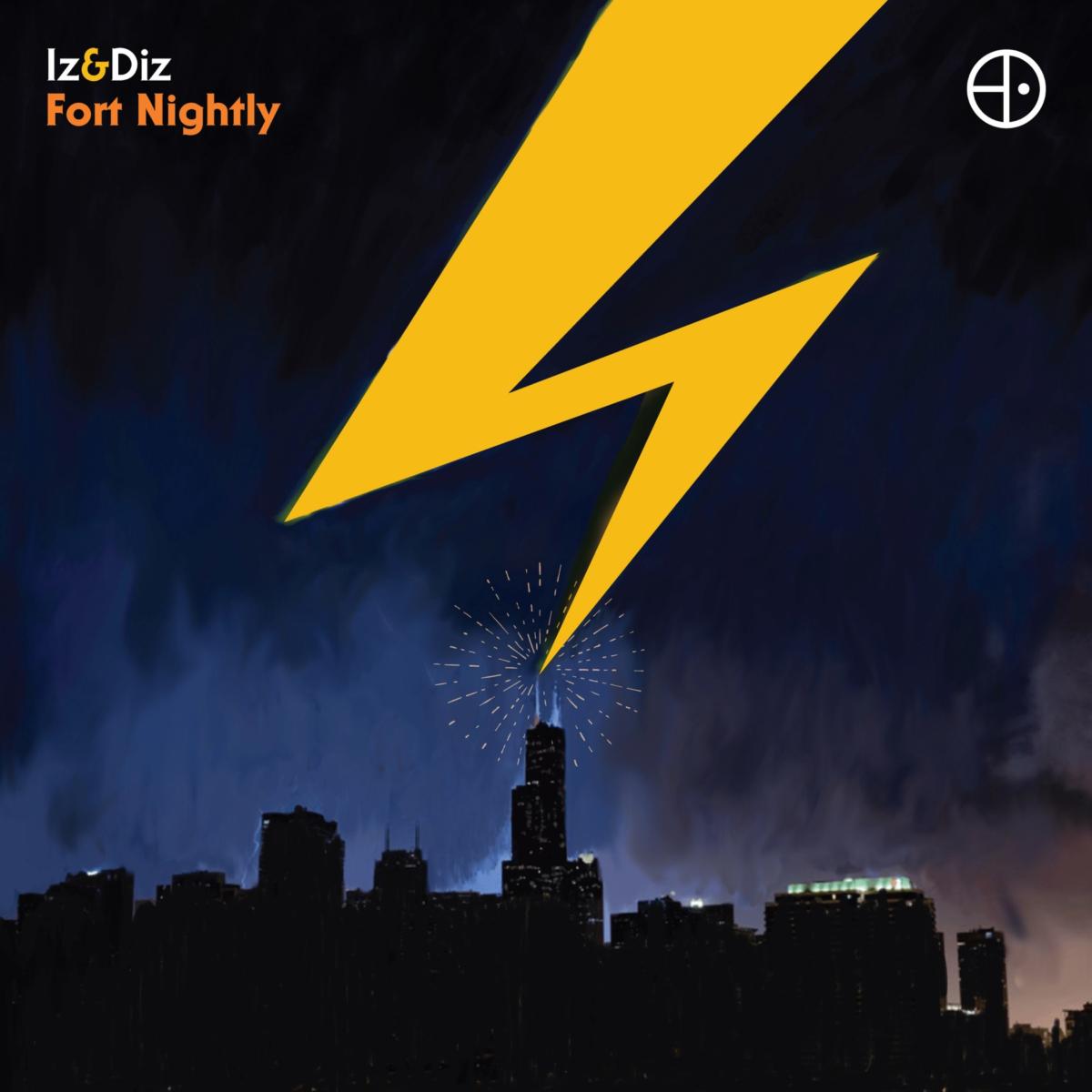 VIZLP2 Iz & Diz - Fort Nightly LP