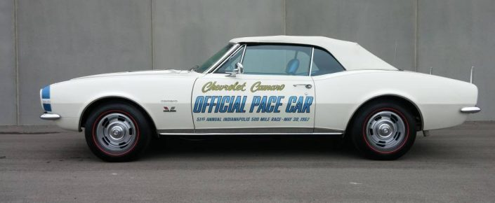 1967Chevrolet  Camaro RS/SS Indy Pace Car Replica
