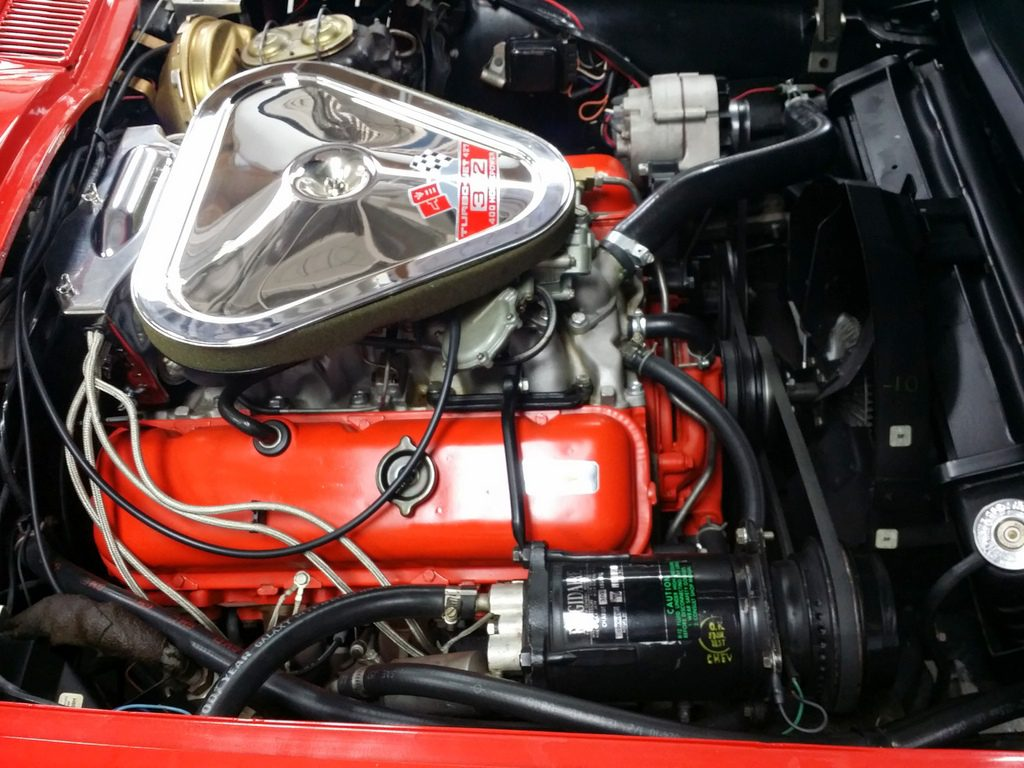 "1967 Corvette CV Rally Red/Red 427/400 hp Factory A/C ""SOLD"""