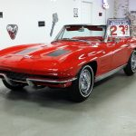 1963 Corvette Riverside Red/Red Conv.