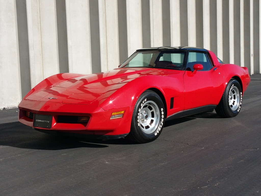1980 Corvette Cp Red Red Very Low Miles Sold