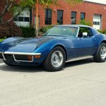 1972 Corvette Coupe Targa Blue/Blue Low mile/4 speed---SOLD---