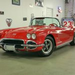 1962 Corvette Red/red both tops---sold