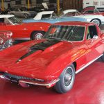 "1967 Corvette Coupe 427/390 hp ""A/C"" Red/blk ""SOLD"""