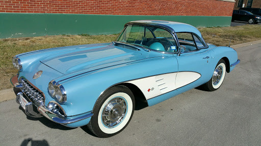 "1960 Horizon Blue/blue (wht. coves)  base engine with both tops   ""SOLD"""